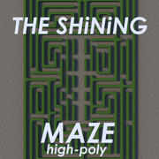 The Shining Hedge maze High-Poly 3d model