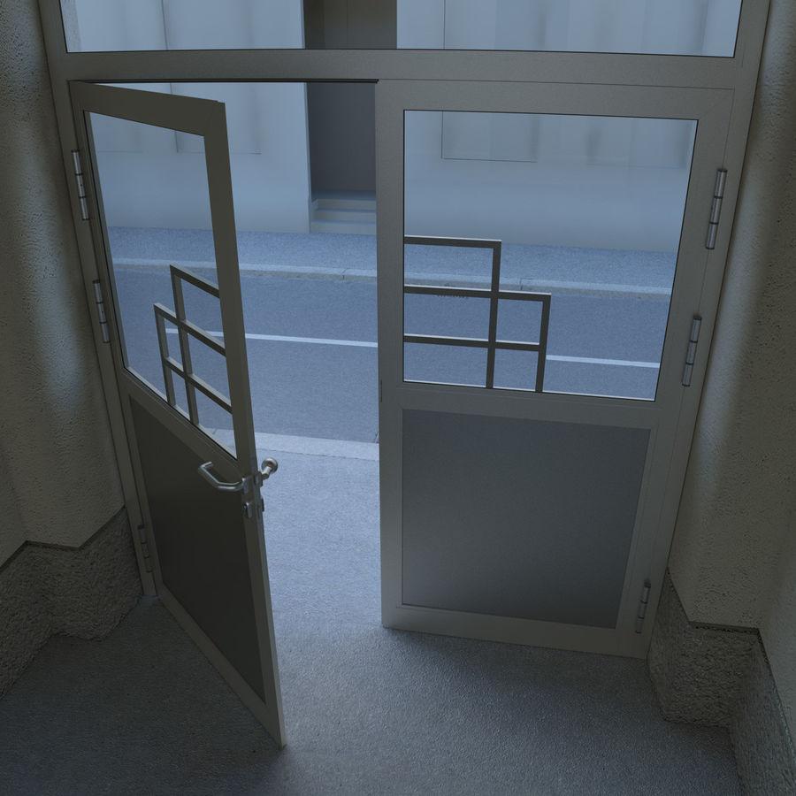 Door - Portal - Cityscape royalty-free 3d model - Preview no. 4