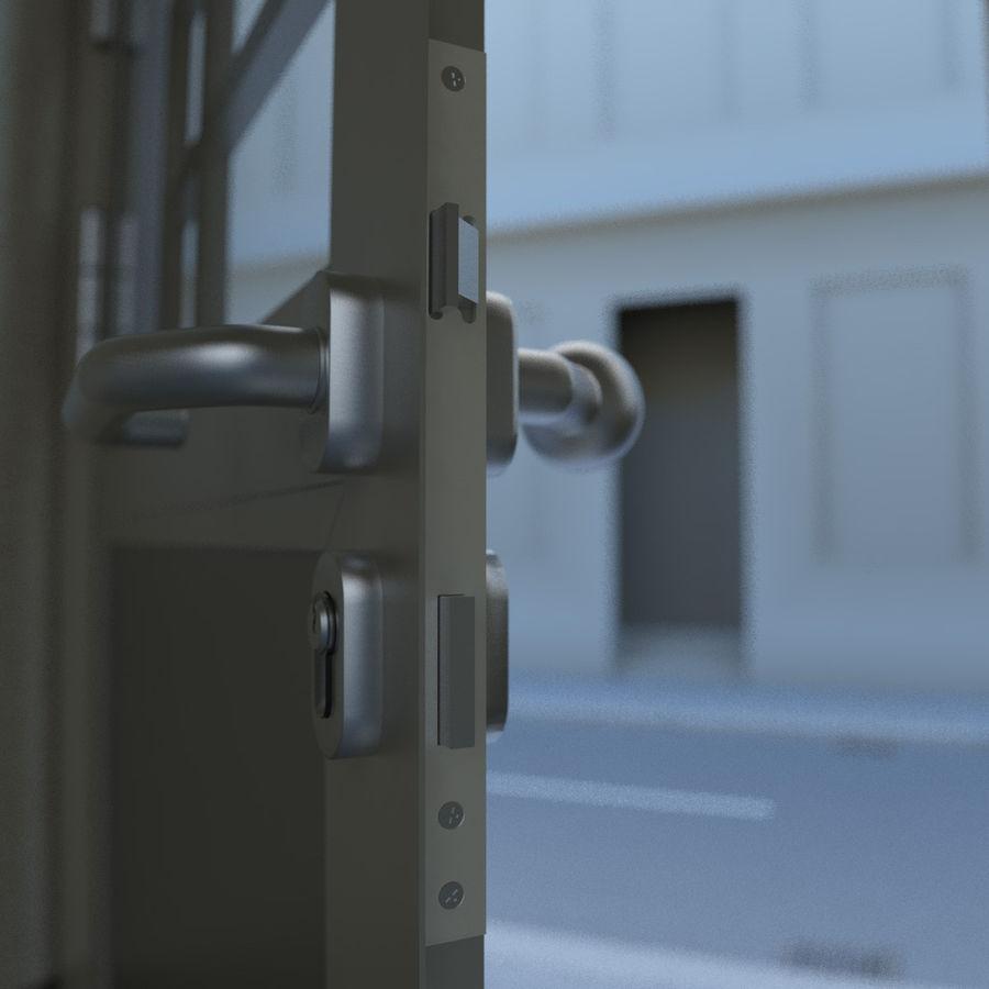 Door - Portal - Cityscape royalty-free 3d model - Preview no. 7