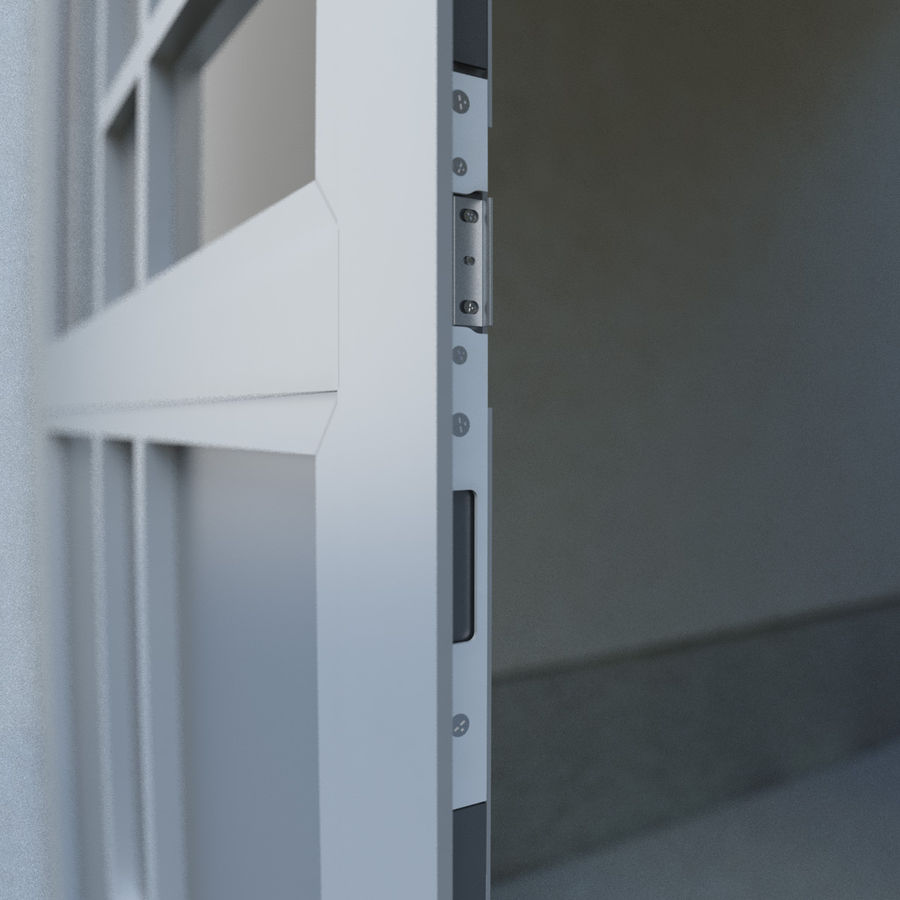 Door - Portal - Cityscape royalty-free 3d model - Preview no. 6