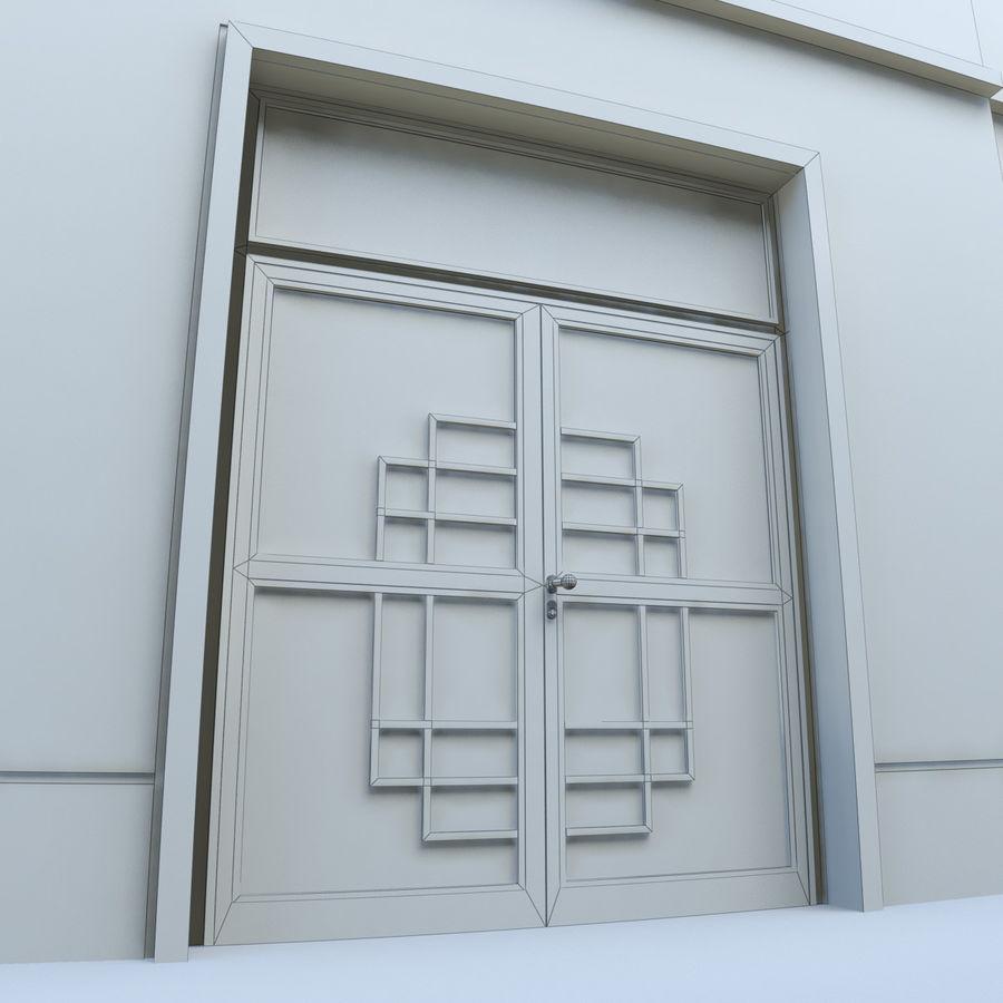 Door - Portal - Cityscape royalty-free 3d model - Preview no. 8