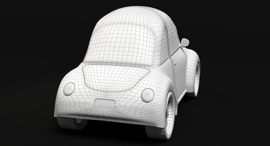 Cartoon Car 2 royalty-free 3d model - Preview no. 10