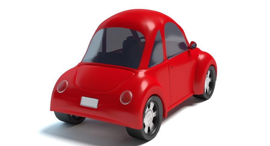 Cartoon Car 2 royalty-free 3d model - Preview no. 5