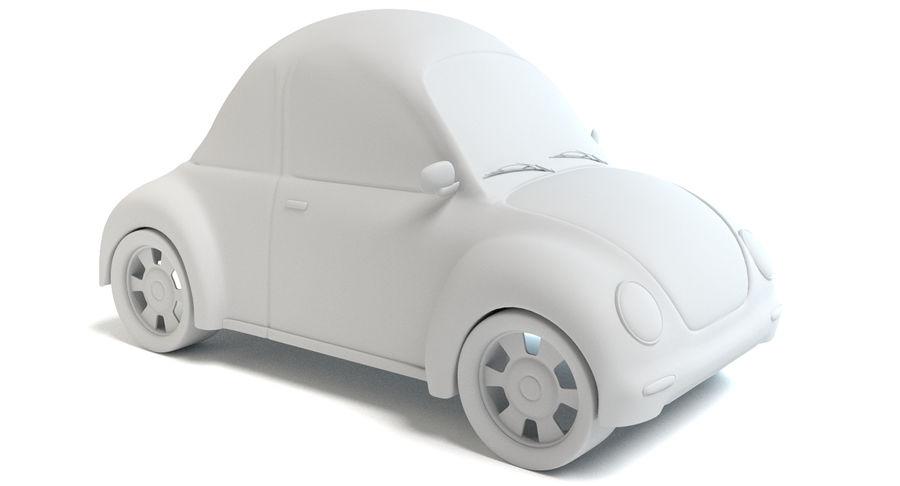 Cartoon Car 2 royalty-free 3d model - Preview no. 6