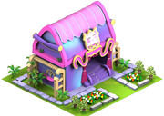 cartoon home 3d model