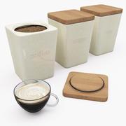 kitchen jars 3d model