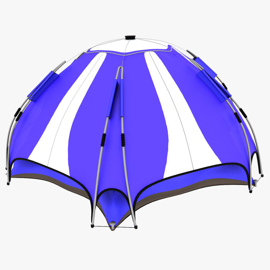 camping tent 4 royalty-free 3d model - Preview no. 5