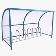 Bike Shelter 3d model