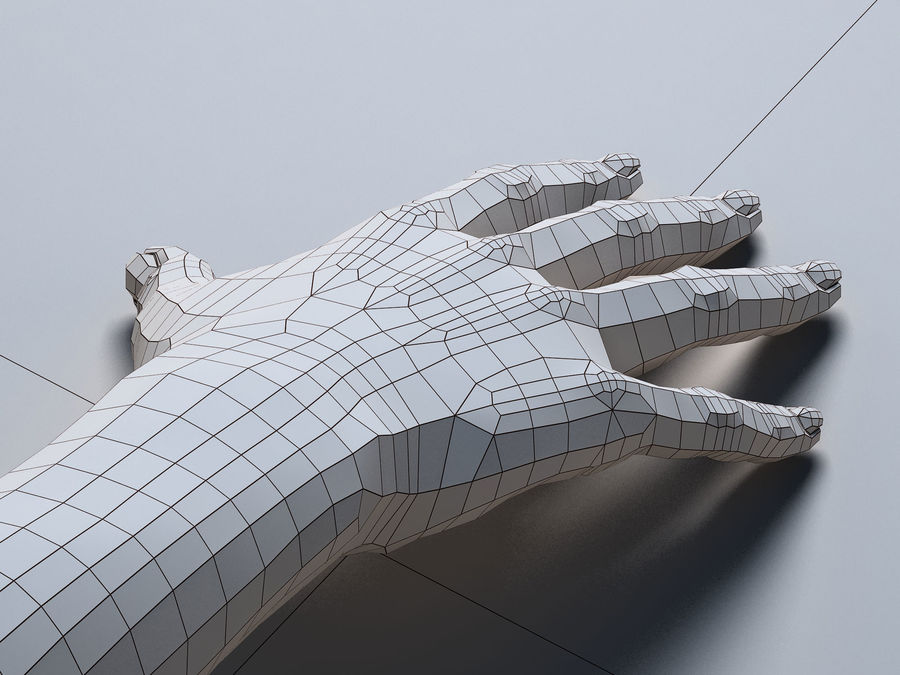 Female Arm A royalty-free 3d model - Preview no. 11