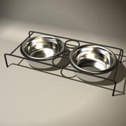 Dog Food Bowls 3d model