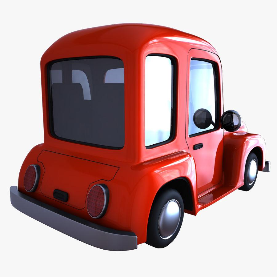 çizgi araba 3 royalty-free 3d model - Preview no. 5