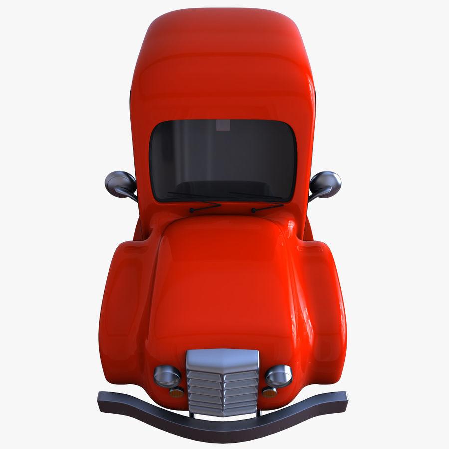 çizgi araba 3 royalty-free 3d model - Preview no. 7