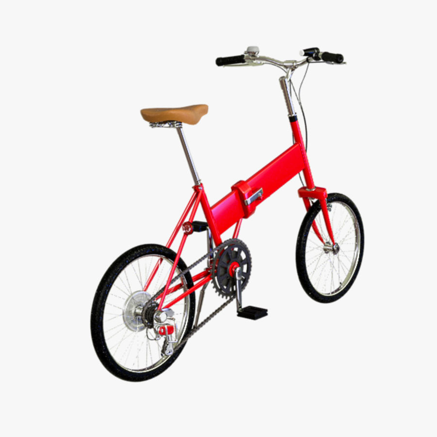 Bicycle Mini royalty-free 3d model - Preview no. 3