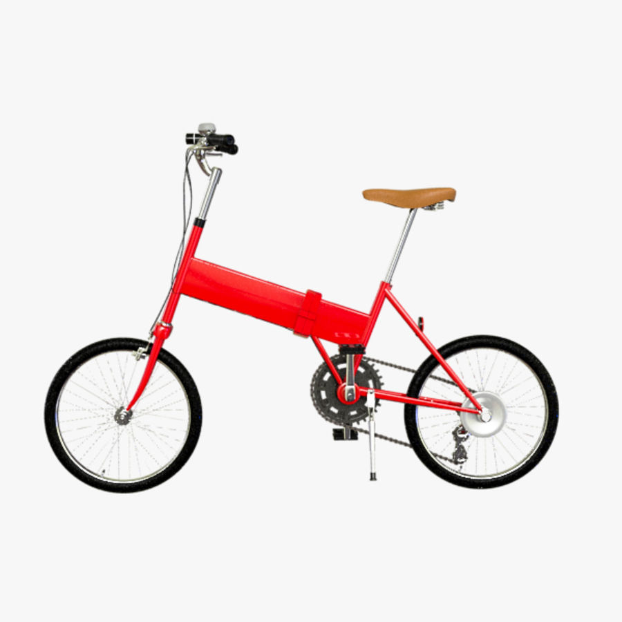 Bicycle Mini royalty-free 3d model - Preview no. 1