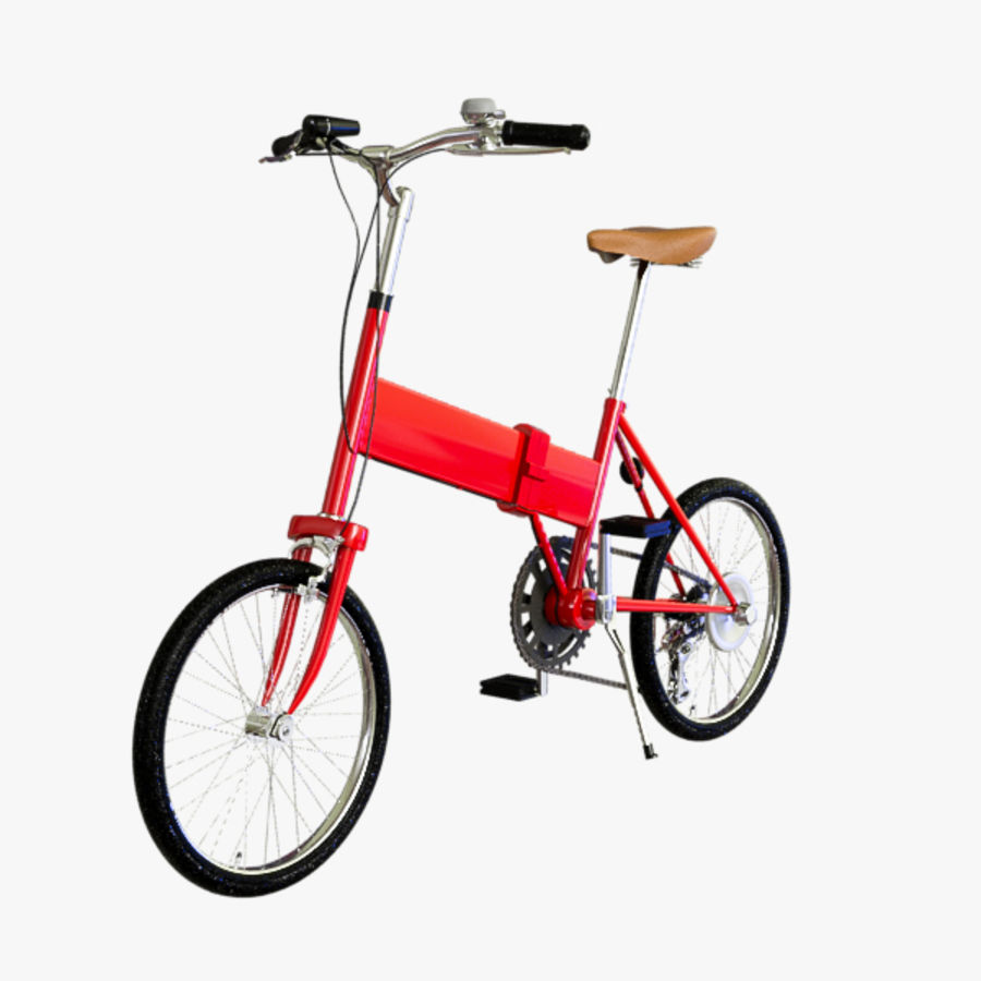 Bicycle Mini royalty-free 3d model - Preview no. 2