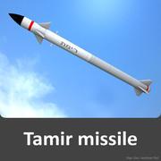 tamir missile 3d model