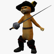 Puss in boots 3d model