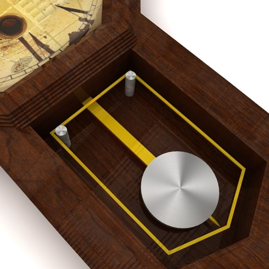 Historical clock royalty-free 3d model - Preview no. 6