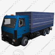 Maz6312 3d model
