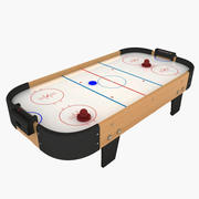 Small Air Hockey Table 3d model