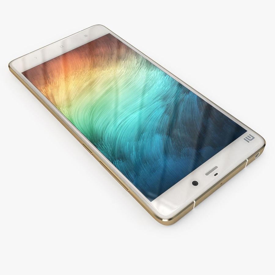 Xiaomi Mi Note Pro royalty-free 3d model - Preview no. 3