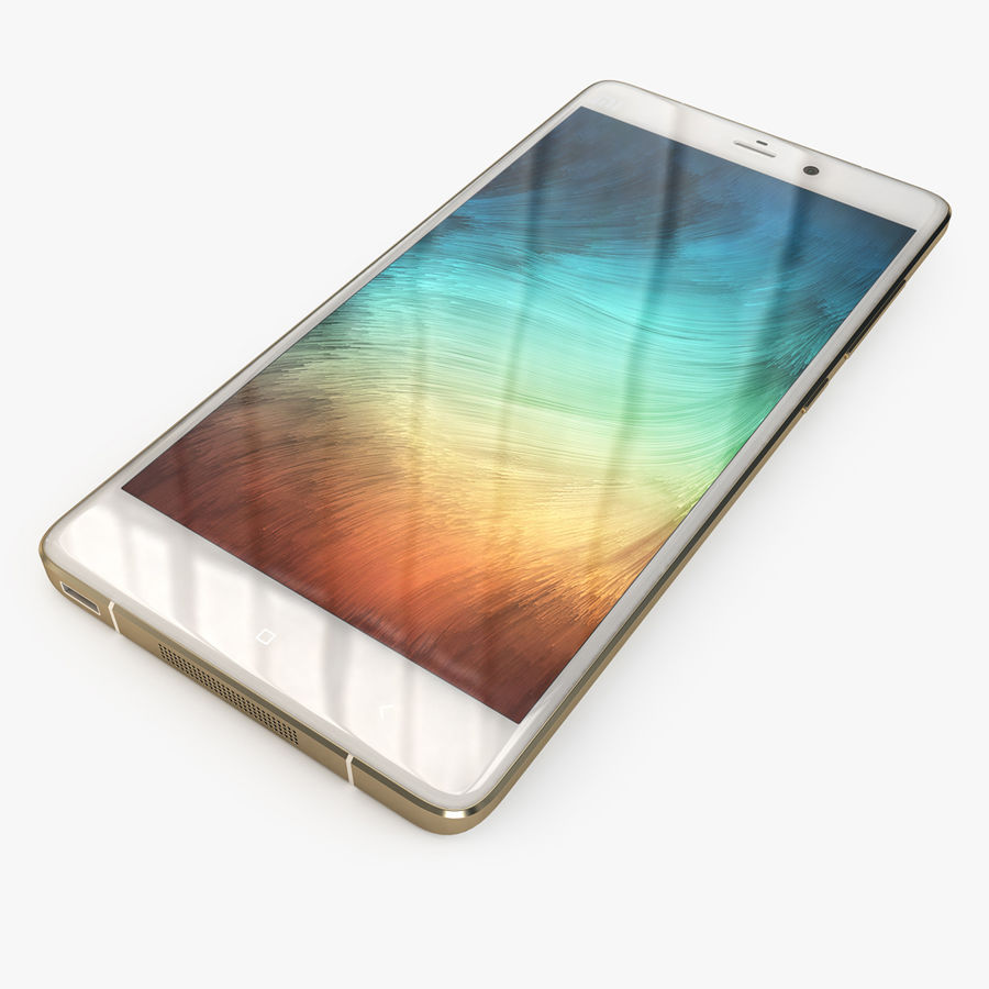 Xiaomi Mi Note Pro royalty-free 3d model - Preview no. 2