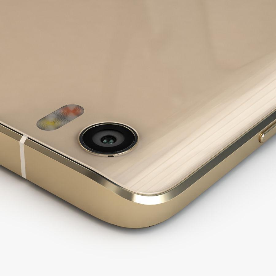 Xiaomi Mi Note Pro royalty-free 3d model - Preview no. 10