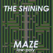 The Shining Hedge maze Low-Poly 3d model