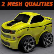 Toon Wheel Car - Chev Kannaro 3d model