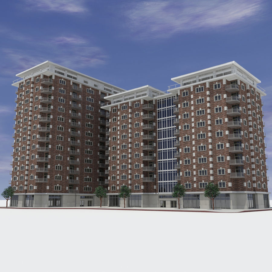 Apartment Shopper: Modern Shopping Apartment City Building