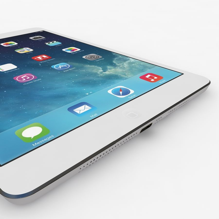 Apple Ipad Air royalty-free 3d model - Preview no. 5