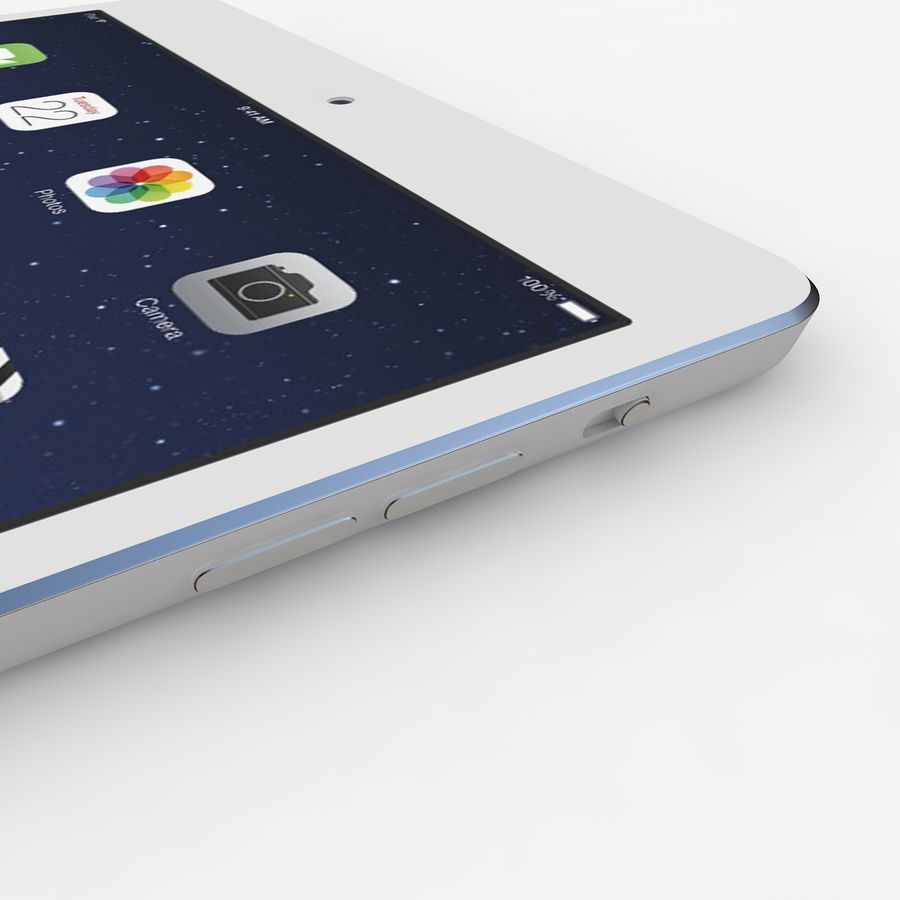 Apple Ipad Air royalty-free 3d model - Preview no. 6