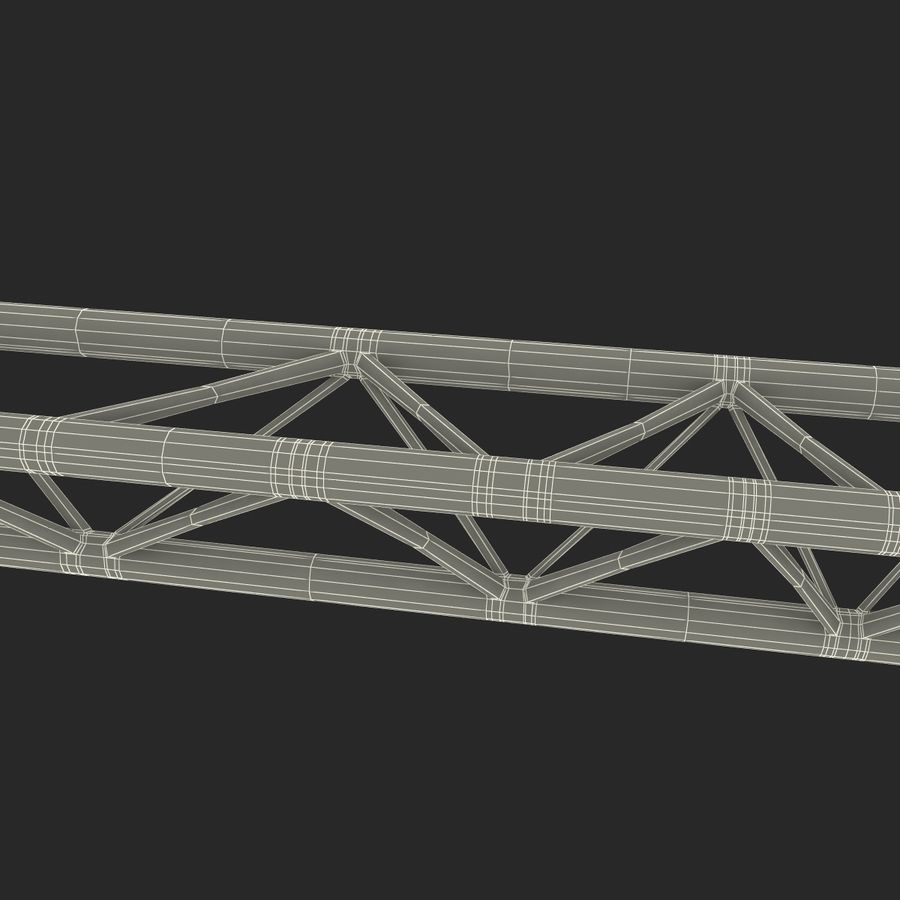 Truss(1) royalty-free 3d model - Preview no. 27
