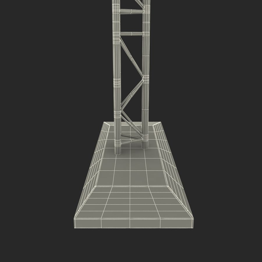 Truss(1) royalty-free 3d model - Preview no. 25