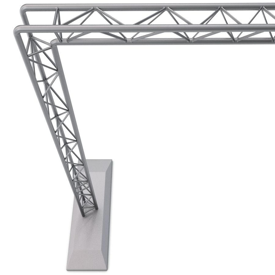Truss(1) royalty-free 3d model - Preview no. 6