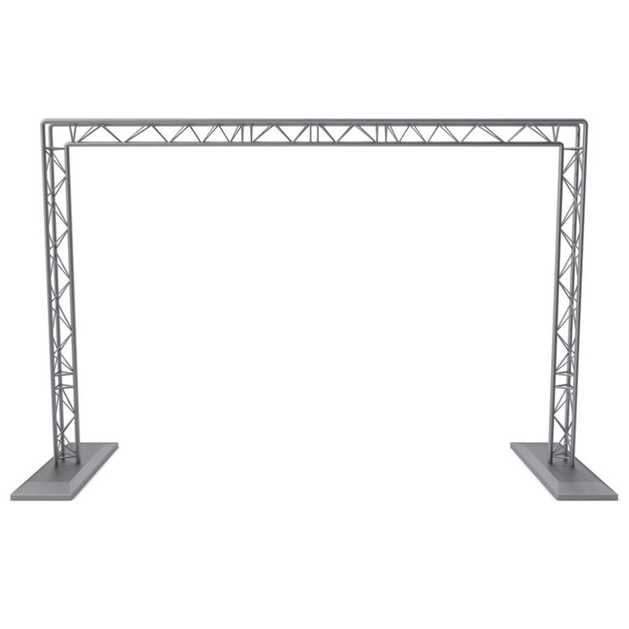 Truss(1) royalty-free 3d model - Preview no. 2