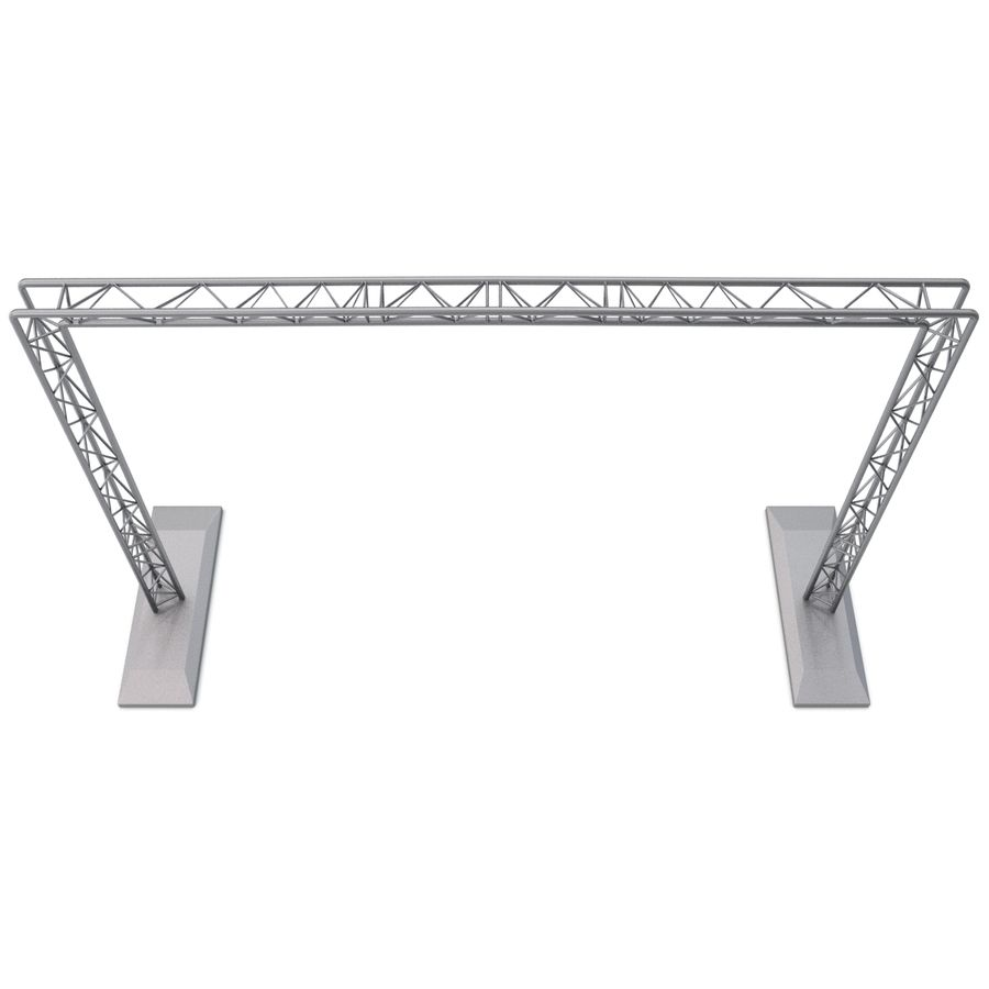 Truss(1) royalty-free 3d model - Preview no. 4