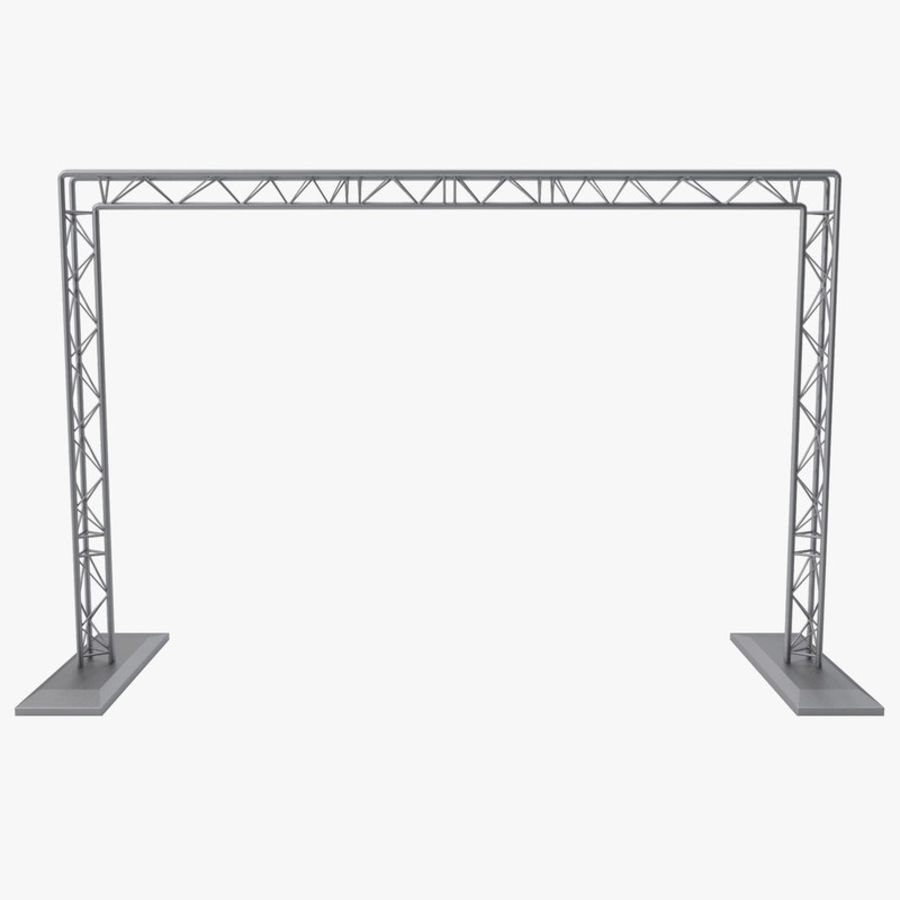 Truss(1) royalty-free 3d model - Preview no. 1