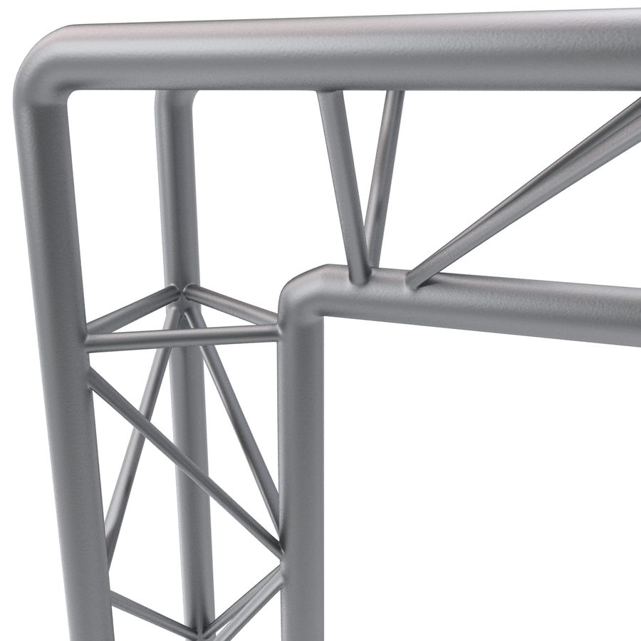 Truss(1) royalty-free 3d model - Preview no. 8