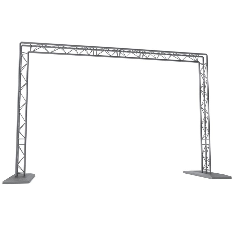 Truss(1) royalty-free 3d model - Preview no. 15