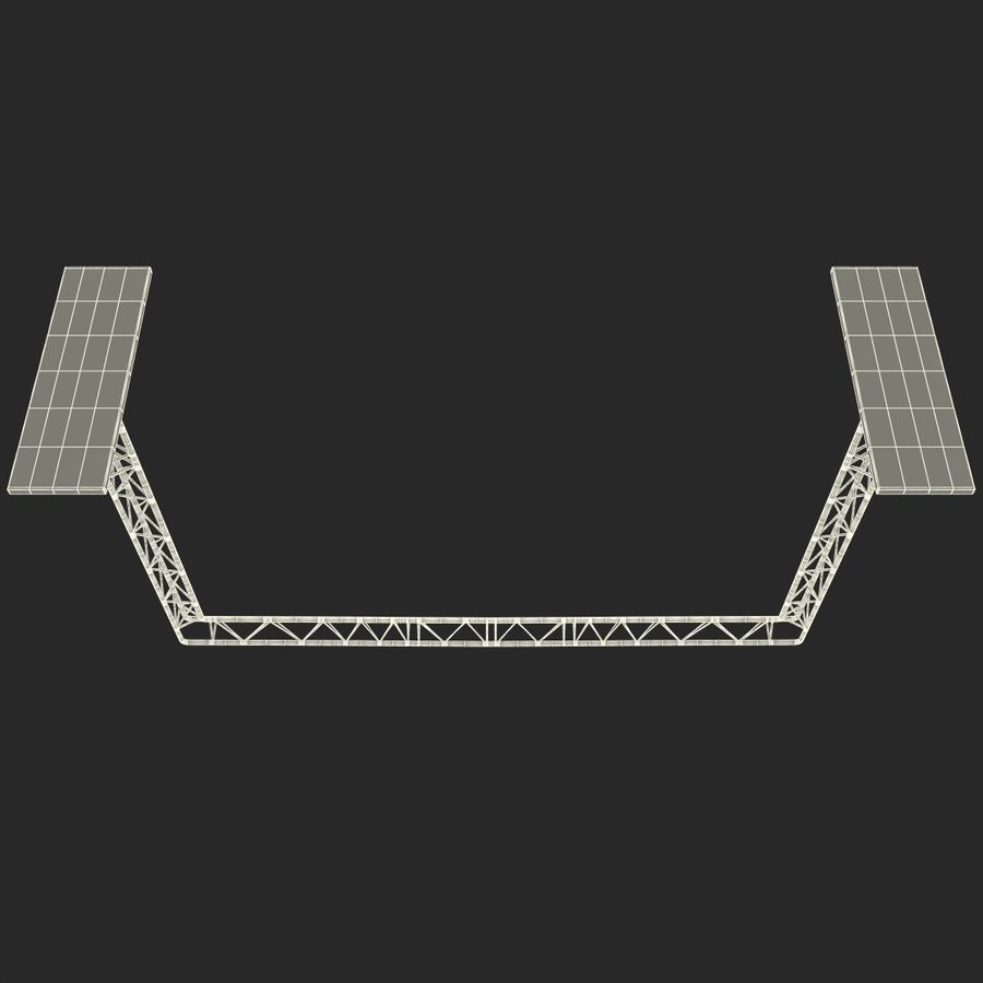 Truss(1) royalty-free 3d model - Preview no. 23