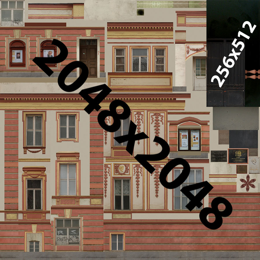 museum  building royalty-free 3d model - Preview no. 16