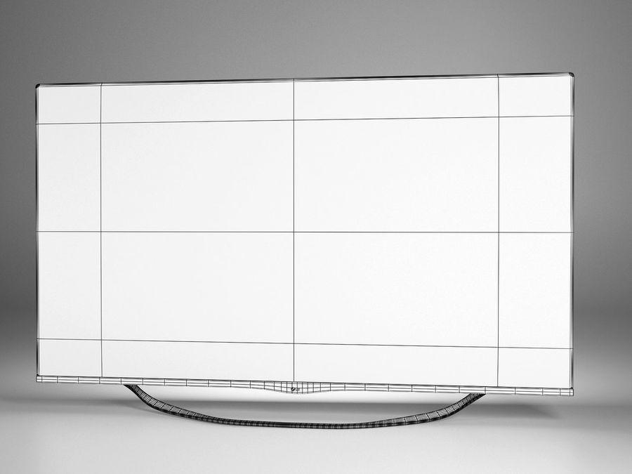 LG 3D TV royalty-free 3d model - Preview no. 4