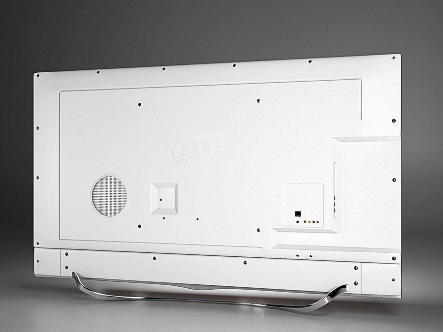 LG 3D TV royalty-free 3d model - Preview no. 3