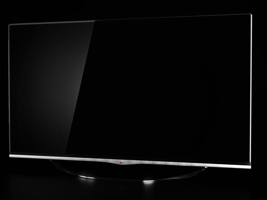 LG 3D TV royalty-free 3d model - Preview no. 2