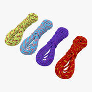 Rock Climbing Ropes Set 3d model