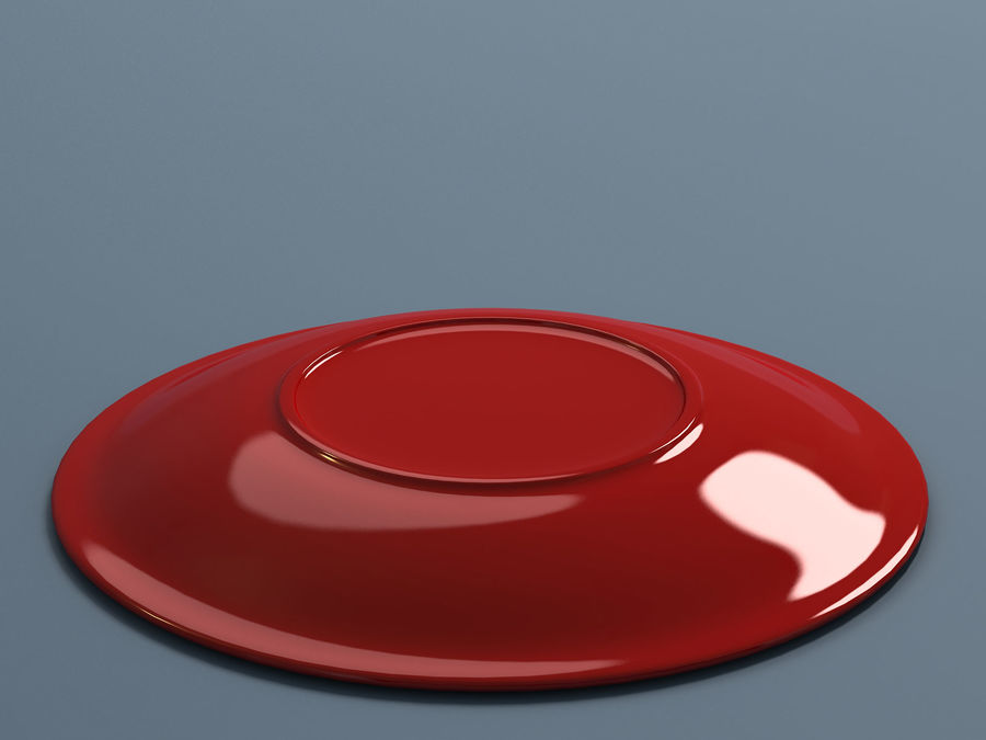 Plate B royalty-free 3d model - Preview no. 6