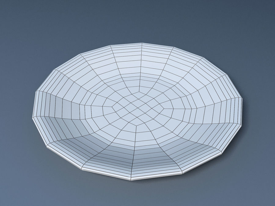 Plate B royalty-free 3d model - Preview no. 9