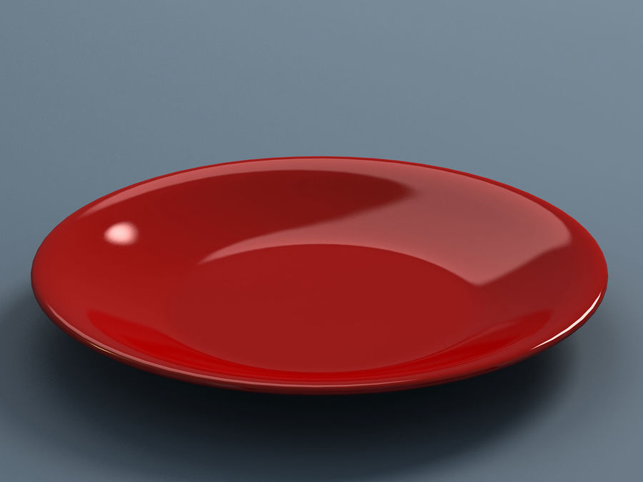 Plate B royalty-free 3d model - Preview no. 5