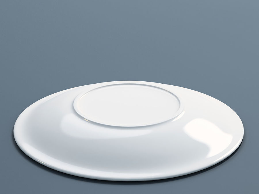 Plate B royalty-free 3d model - Preview no. 2